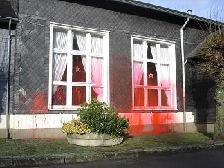Attackierte Gaststätte 2009 in Wuppertal-Beyenburg
